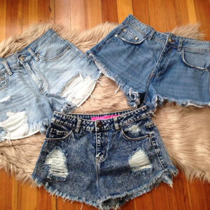 3for10 Denim shorts size 2